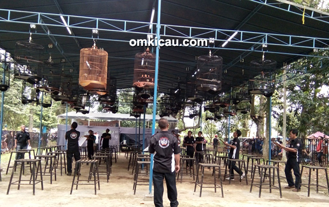 Lomba burung berkicau Balitro Cup I Bogor