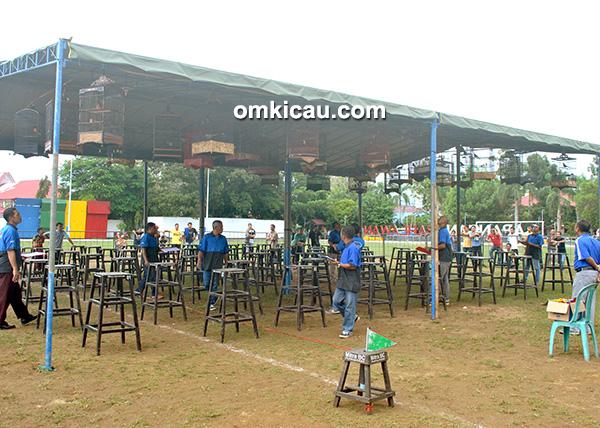 Lomba burung berkicau Bupati HSU Cup di Amuntai