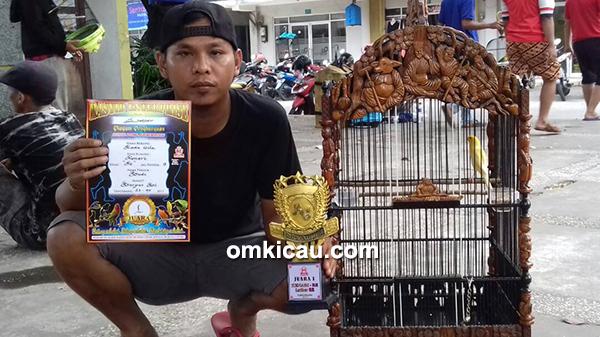 Kenari Roda Gila milik Om Budi (Barbus BC Jakarta)