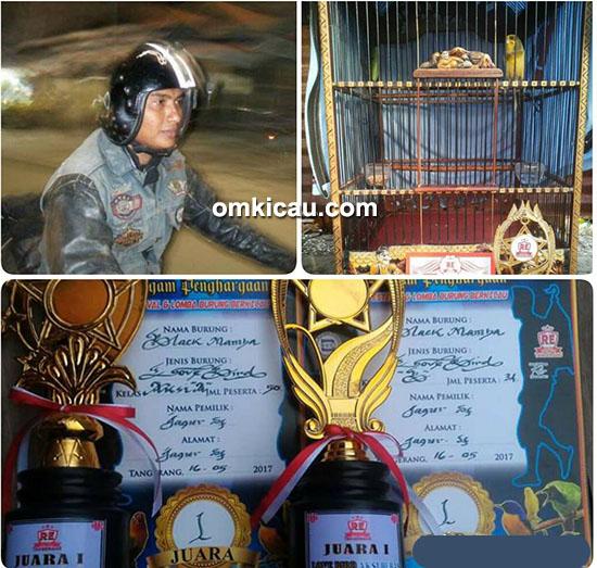 Om Adjie Bakrie dan kenari Tiger