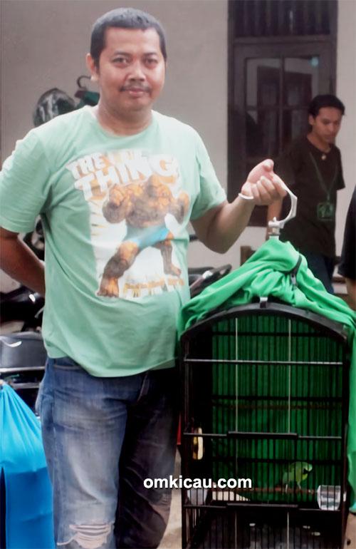 Om Kosasi Ahmad dan cucak hijau Rolex