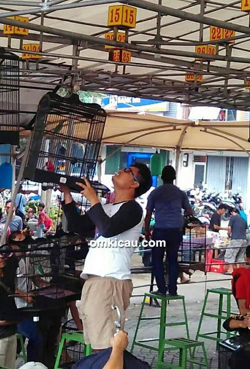 Om Gilang (pengurus BnR Banten)