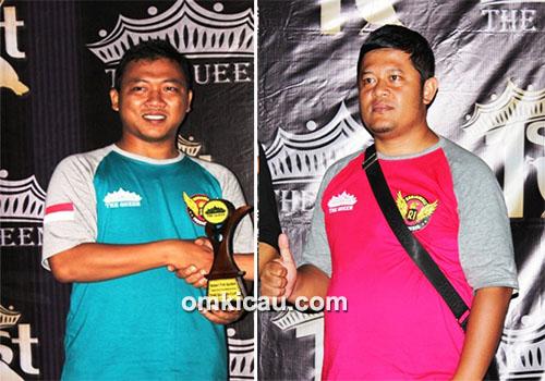 Ketua Pelaksana Om Raden Sanjoyo dan Om Boby