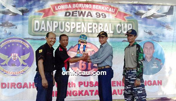 Lomba burung Danpuspenerbal Cup Sidoarjo