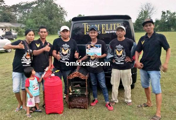 Team Elite Surabaya dan cucak ijo Berlyn