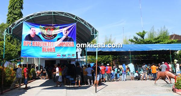 Launching Radjawali Indonesia DPC Blora