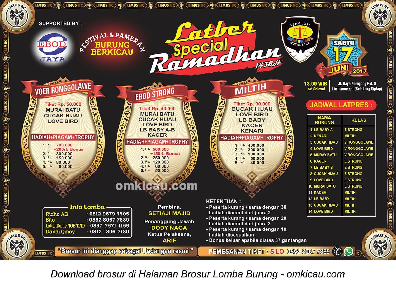Latber Special Ramadhan Limus BC