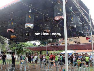 Lomba burung berkicau Piala Palem Bintaro