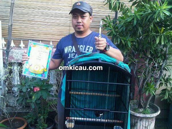 lomba burung di Tangerang