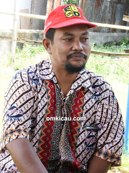 Om Sokib, ketua Ronggolawe DPC Grobogan