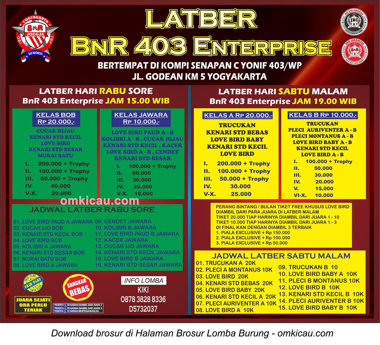 latber bnr 403 enterprise