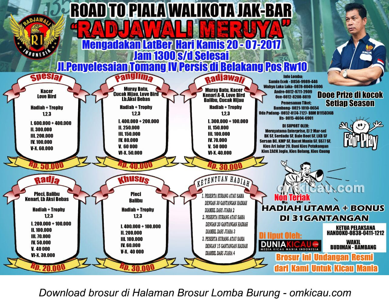 road to piala wali kota jakarta barat