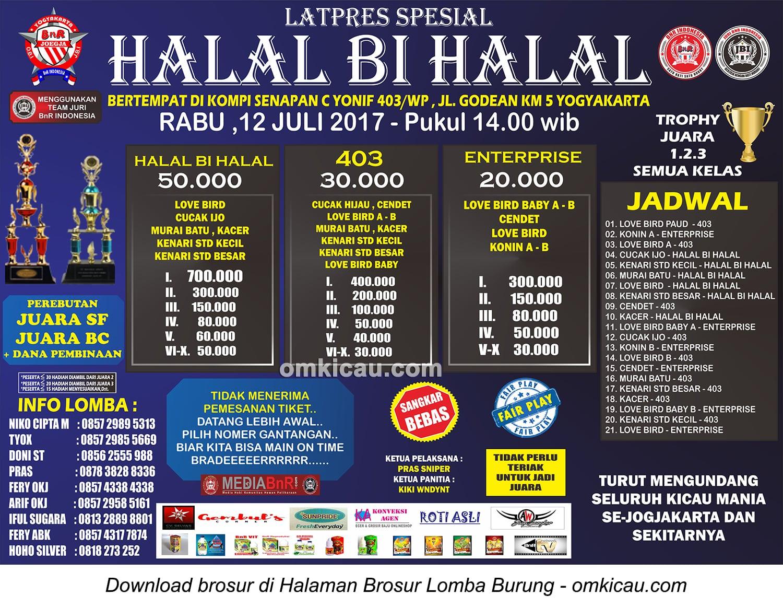 latpres halal bi halal bnr 403