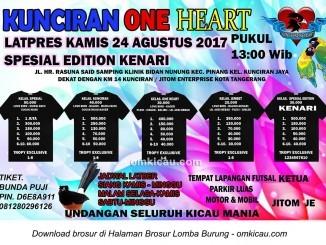 Latpres Kunciran One Heart