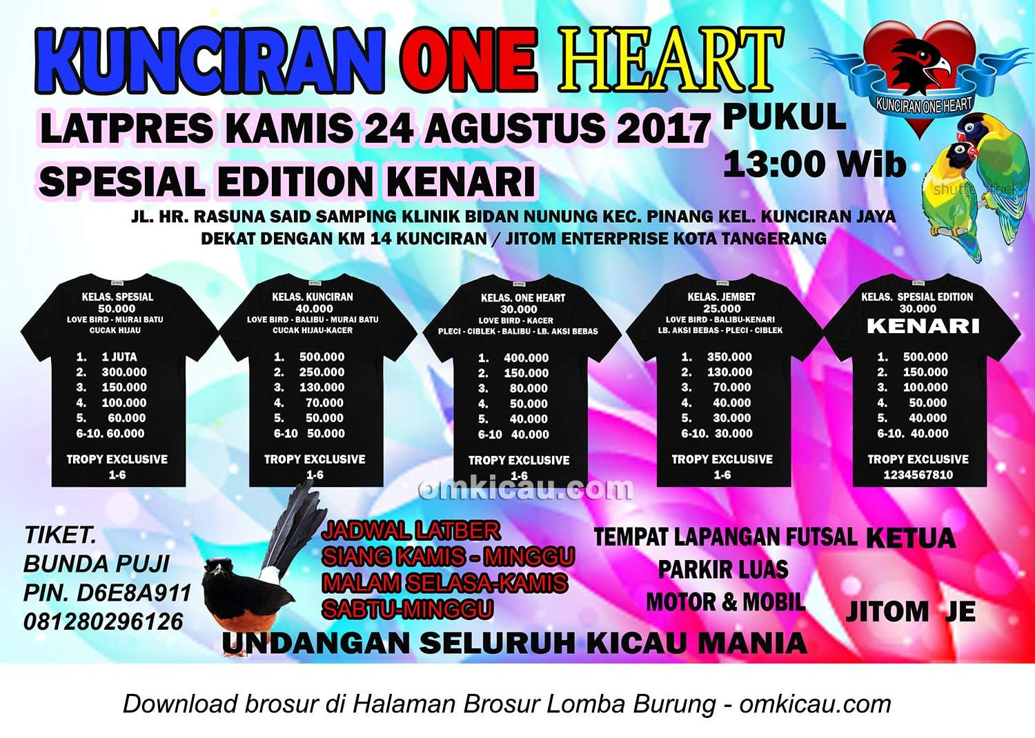 Latpres Kunciran One Heart