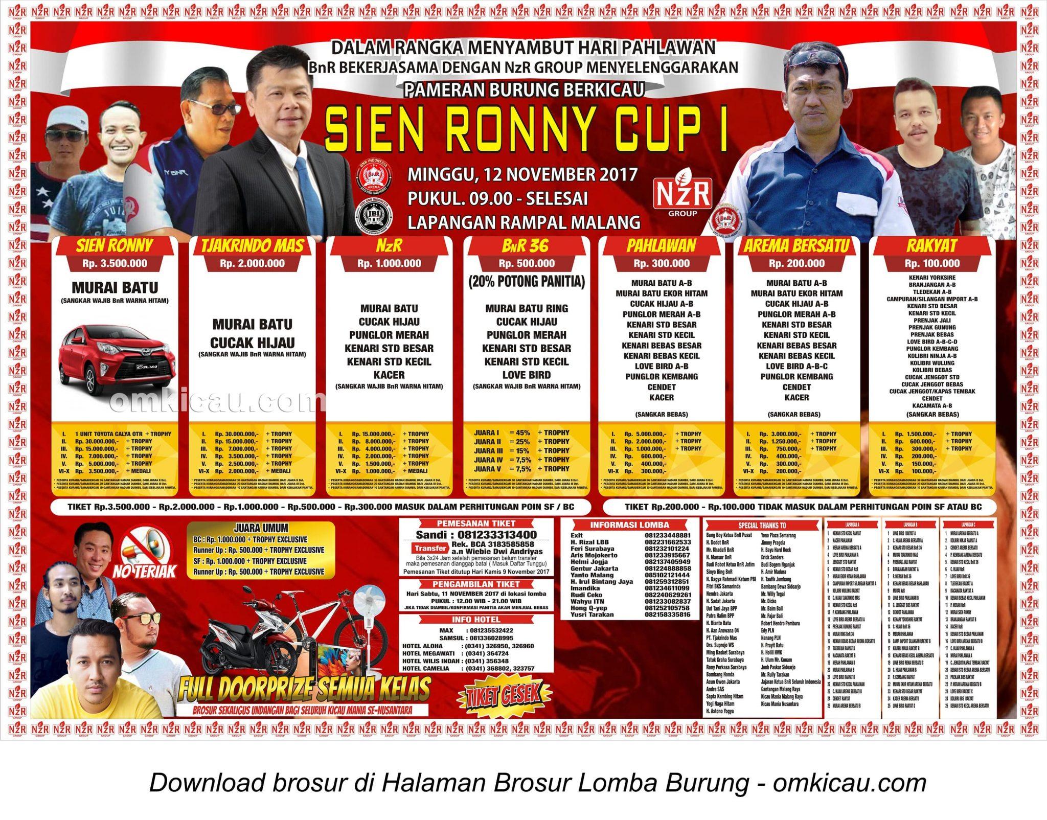 Sien Ronny Cup 1