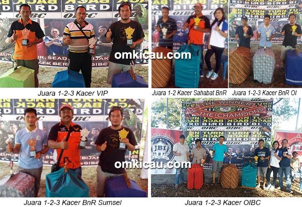 Latpres OIBC-juara kacer