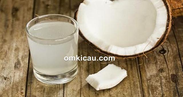 air kelapa untuk burung kicauan
