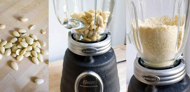 Membuat tepung kacang untuk burung kicauan