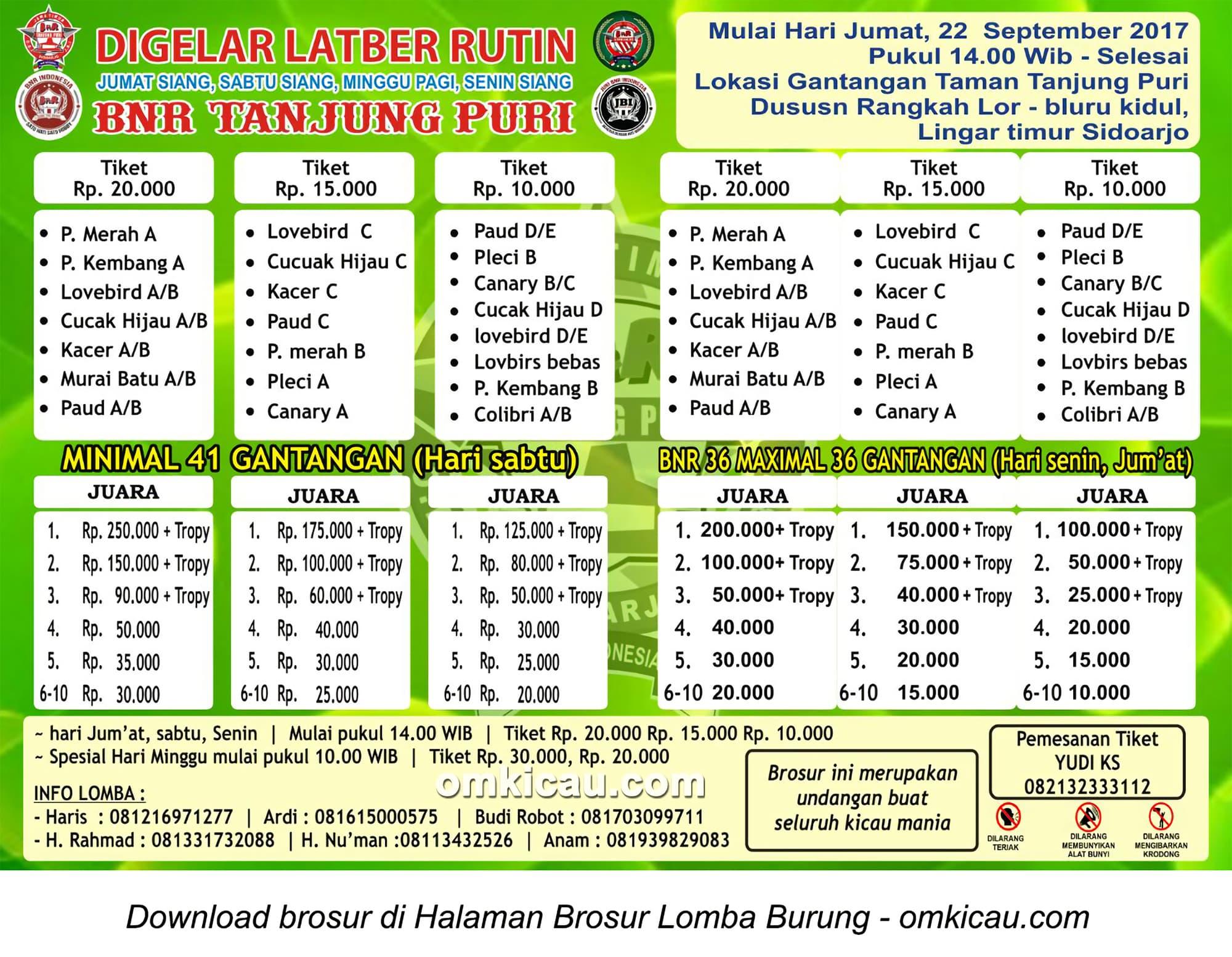 Latber BnR Tanjung Puri Sidoarjo
