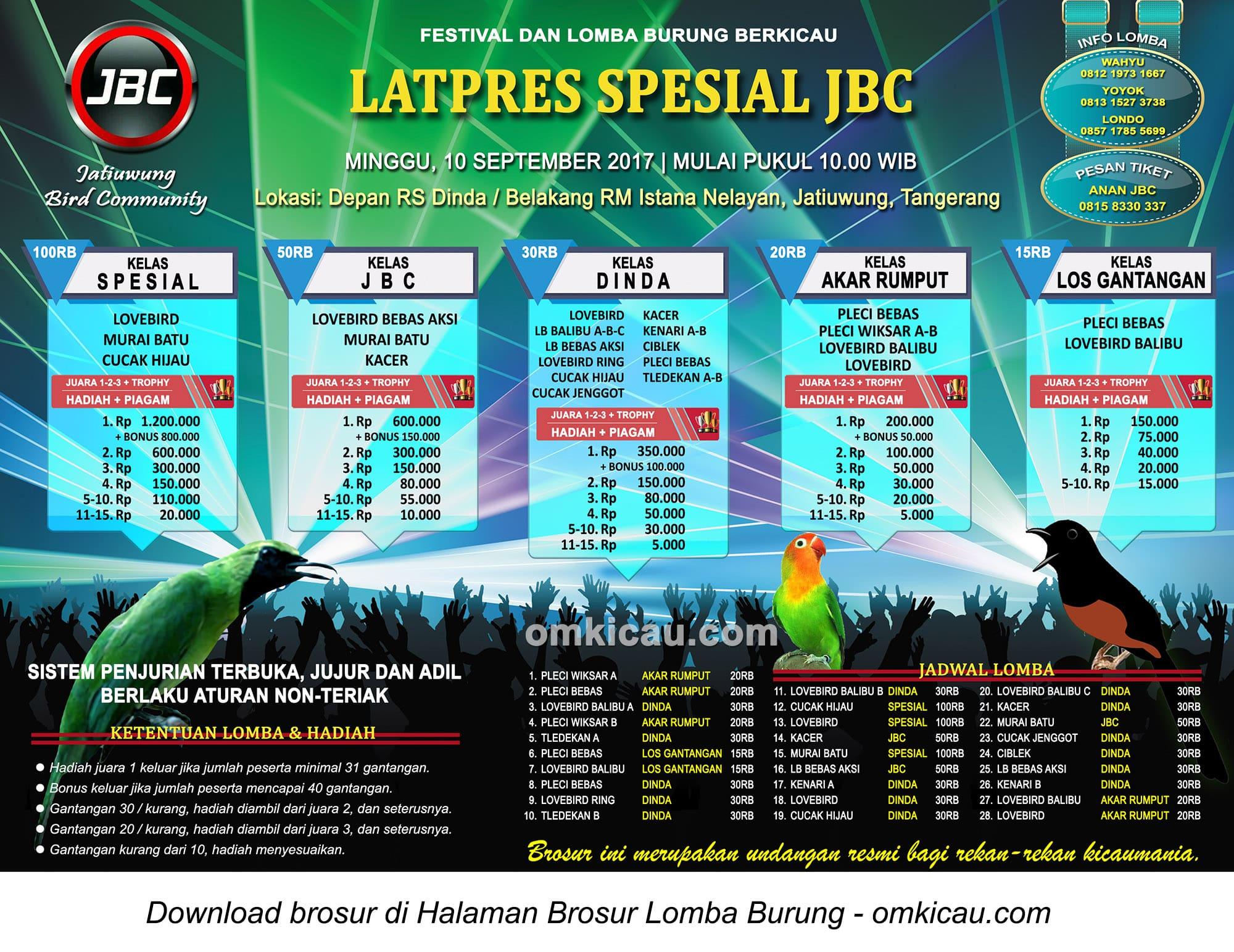 Latpres Spesial JBC Tangerang