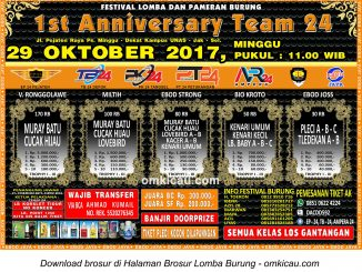 1st Anniversary Team 24 Jakarta