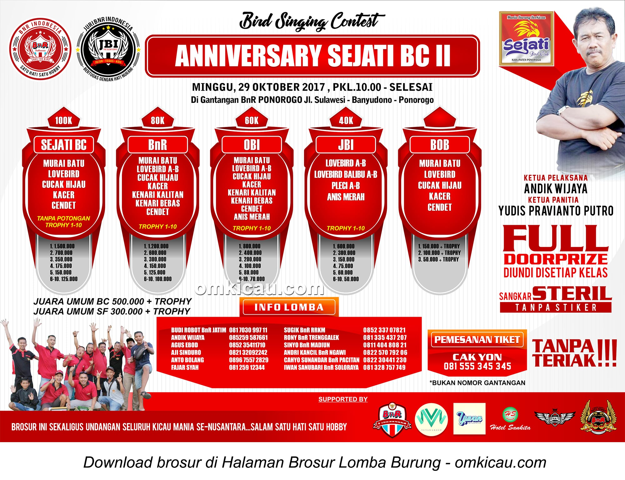 Anniversary Sejati BC II Ponorogo