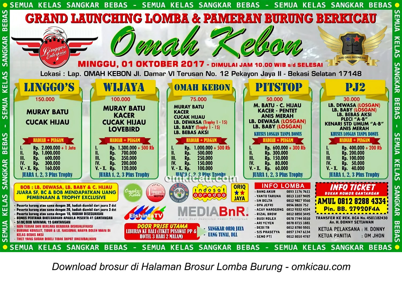 Grand Launching Omah Kebon