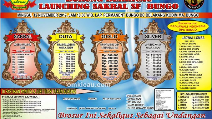 Launching Sakral SF Bungo
