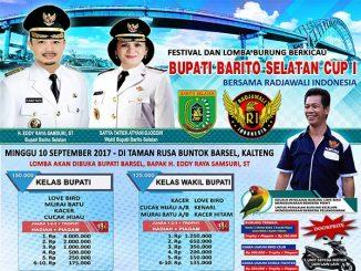 Bupati Barito Selatan Cup I