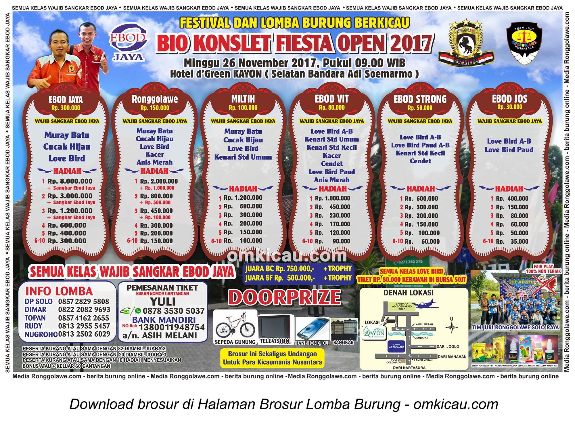 Bio Konslet Fiesta Open