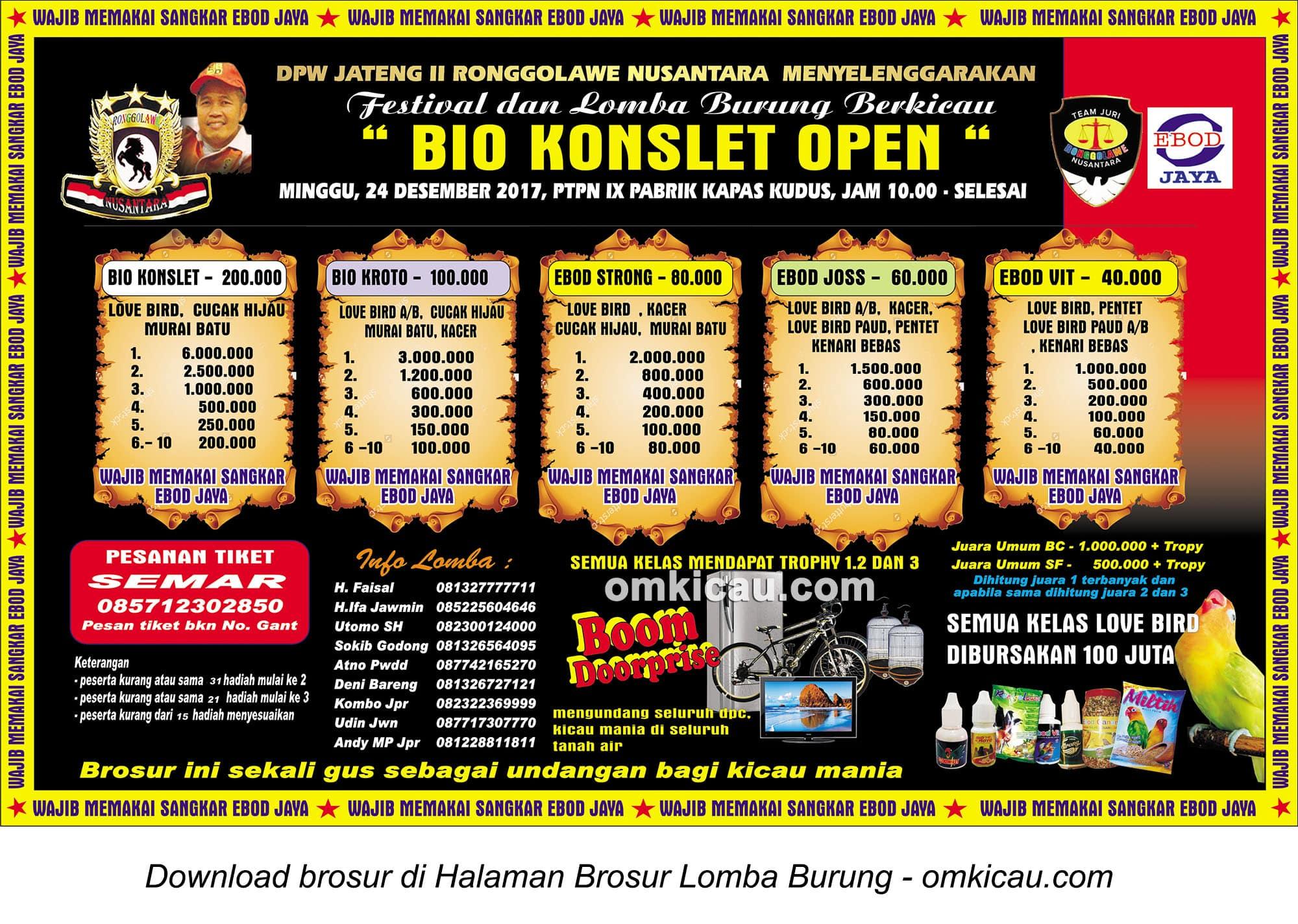 Bio Konslet Open