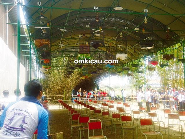 Launching Gantarangan Gapuro Ungu Kudus