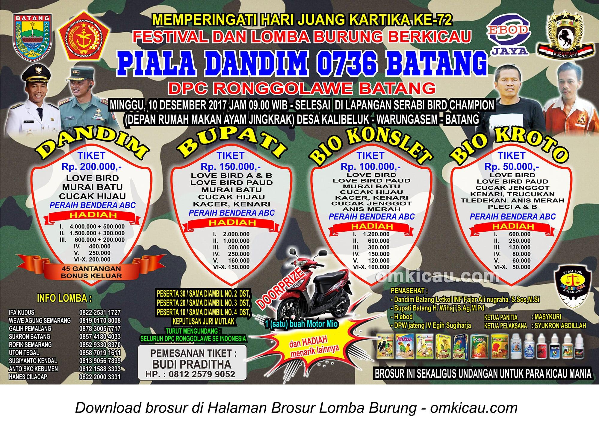 Piala Dandim 0736 / Batang