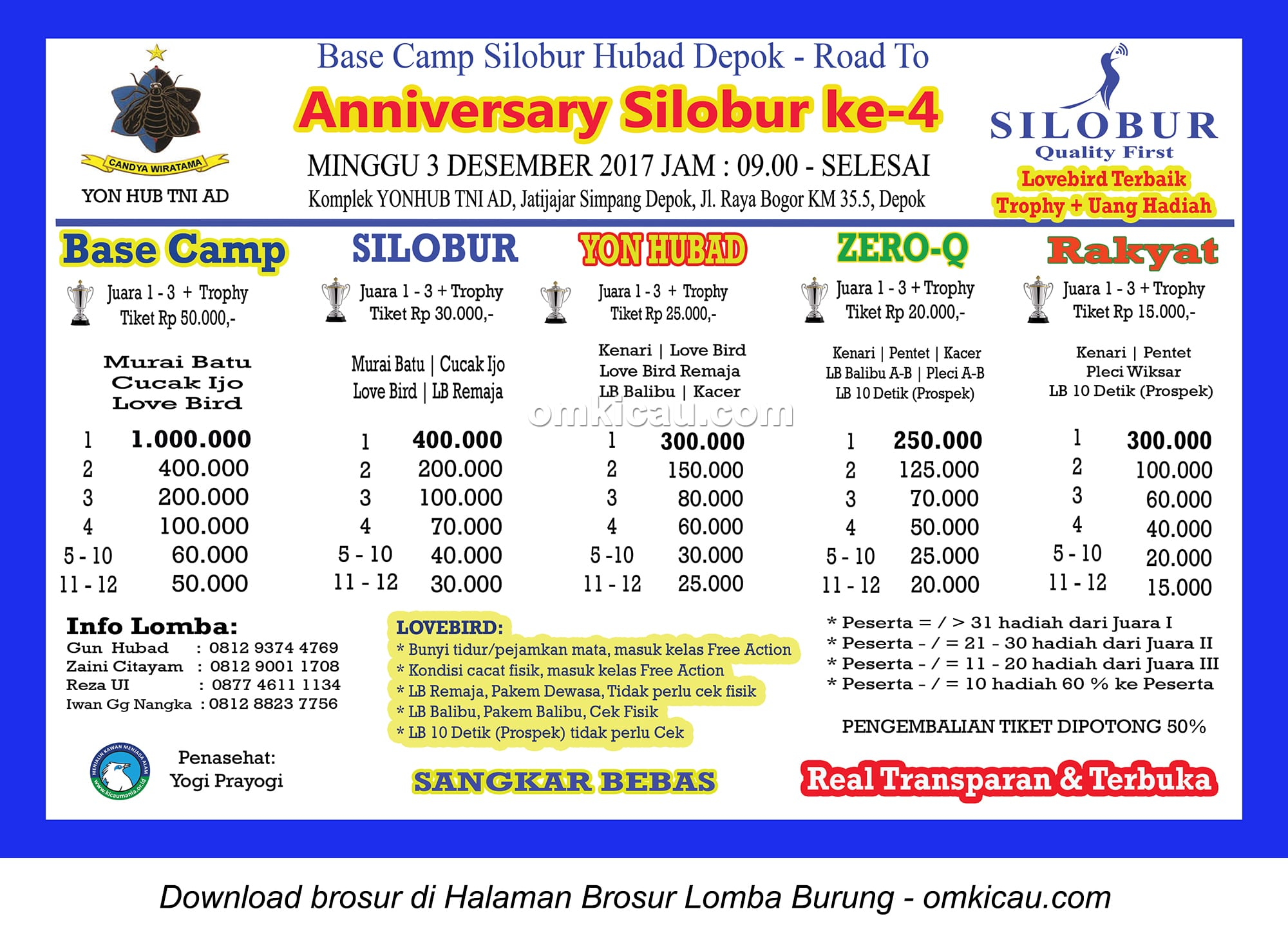 Road to Anniversary Ke-4 Silobur