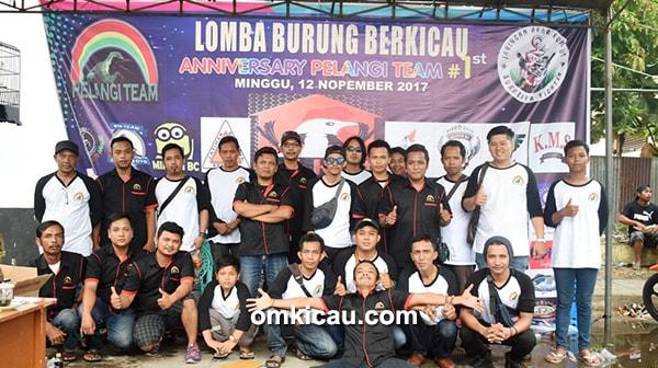 1st Anniversary Pelangi Team