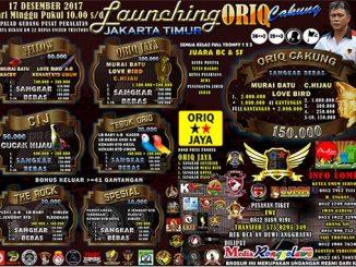 Launching Oriq Cakung