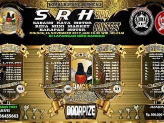 SRH Bird Contest