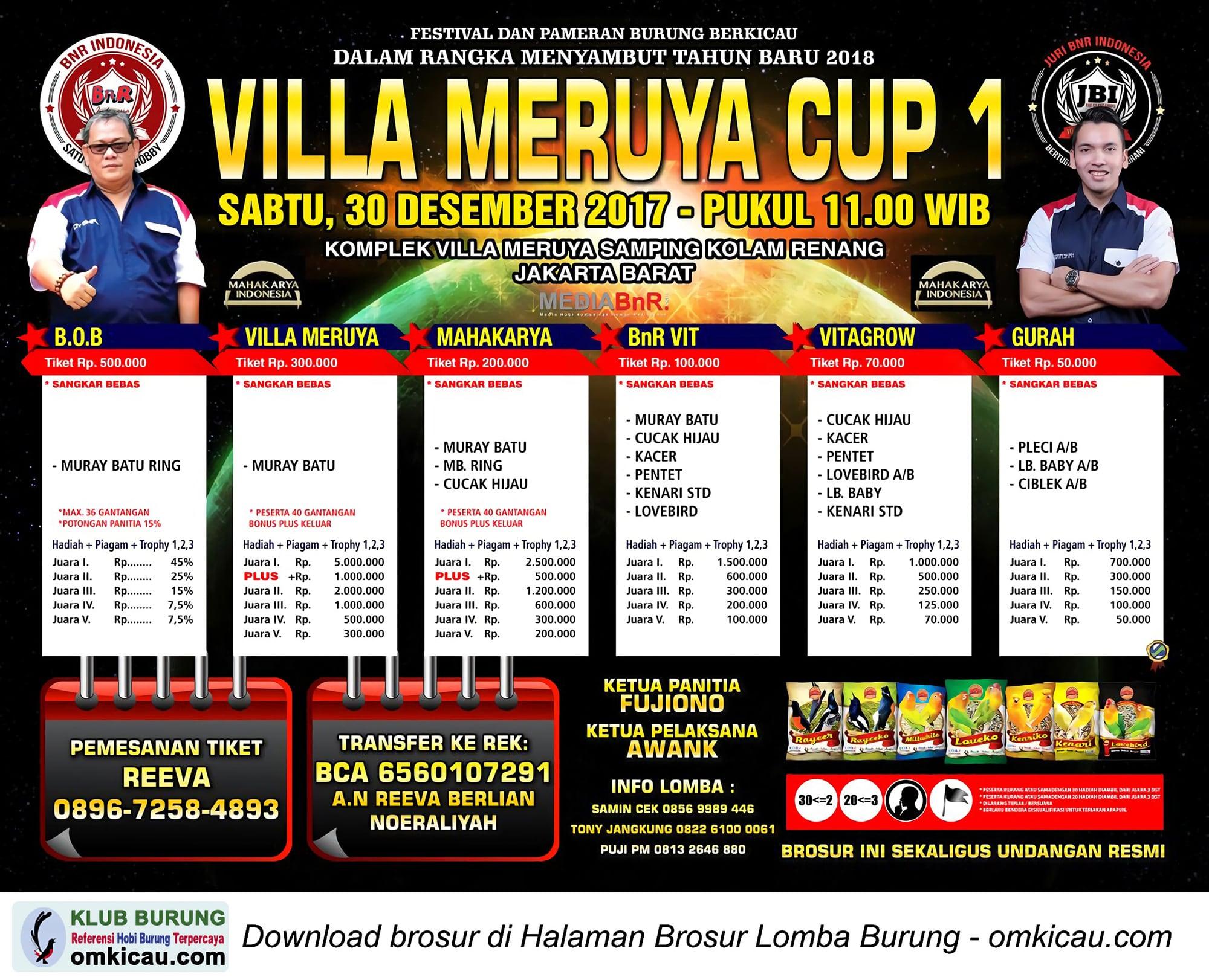 Villa Meruya Cup 1