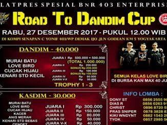Road to Dandim Cup