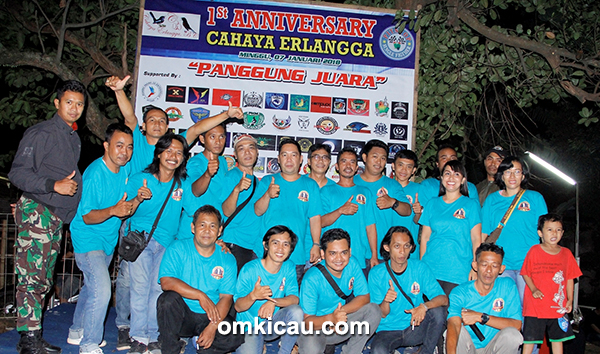 Anniversary Cahaya Erlangga BC