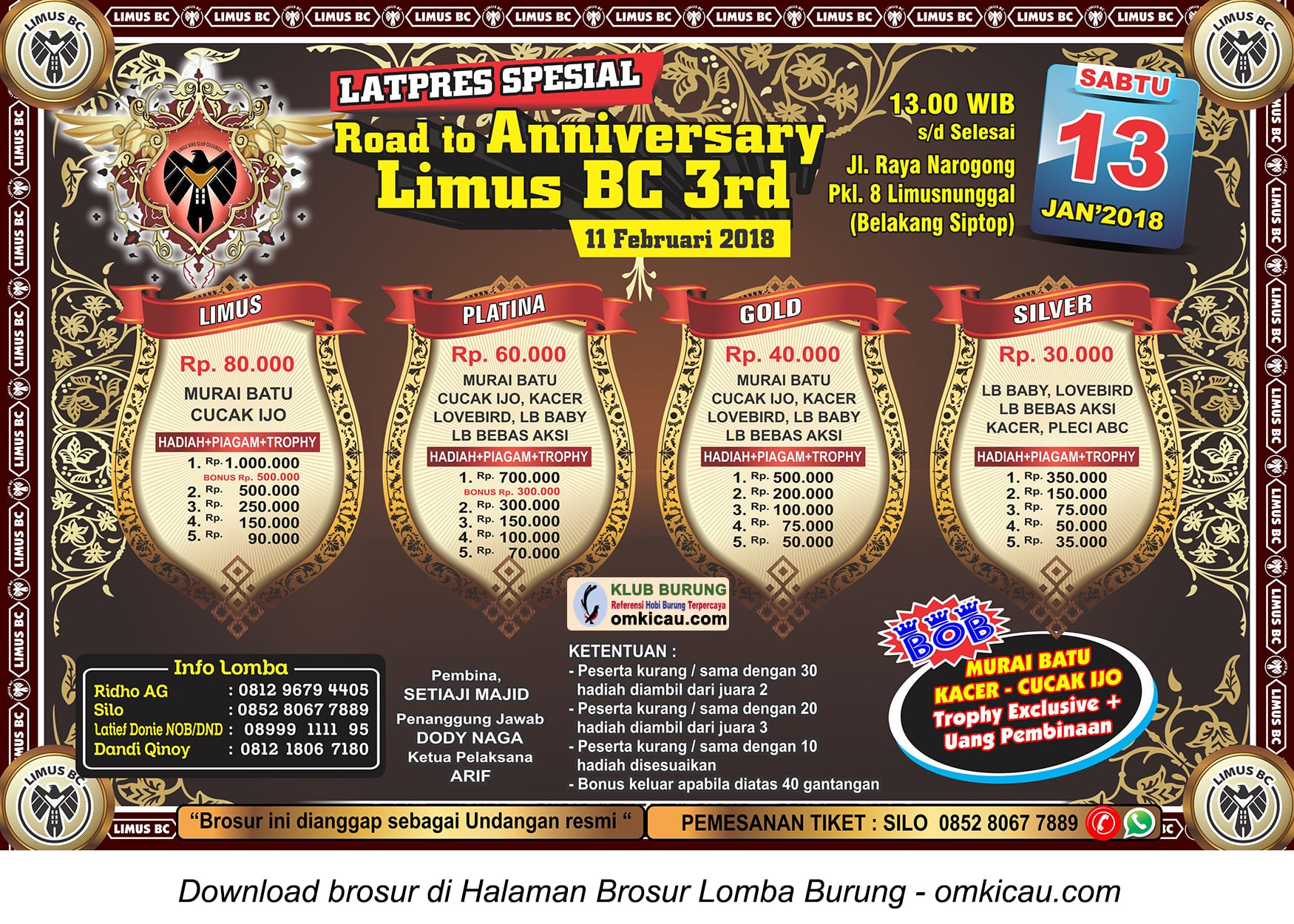 Road to 3rd Anniversary Limus BC
