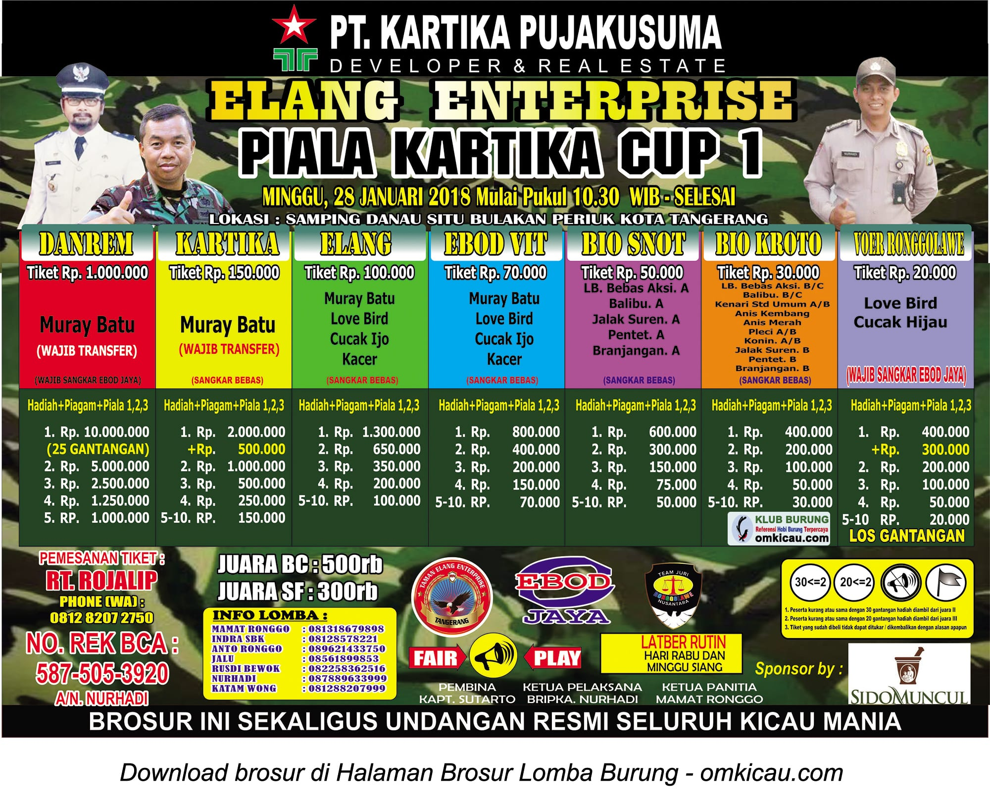 Piala Kartika Cup 1