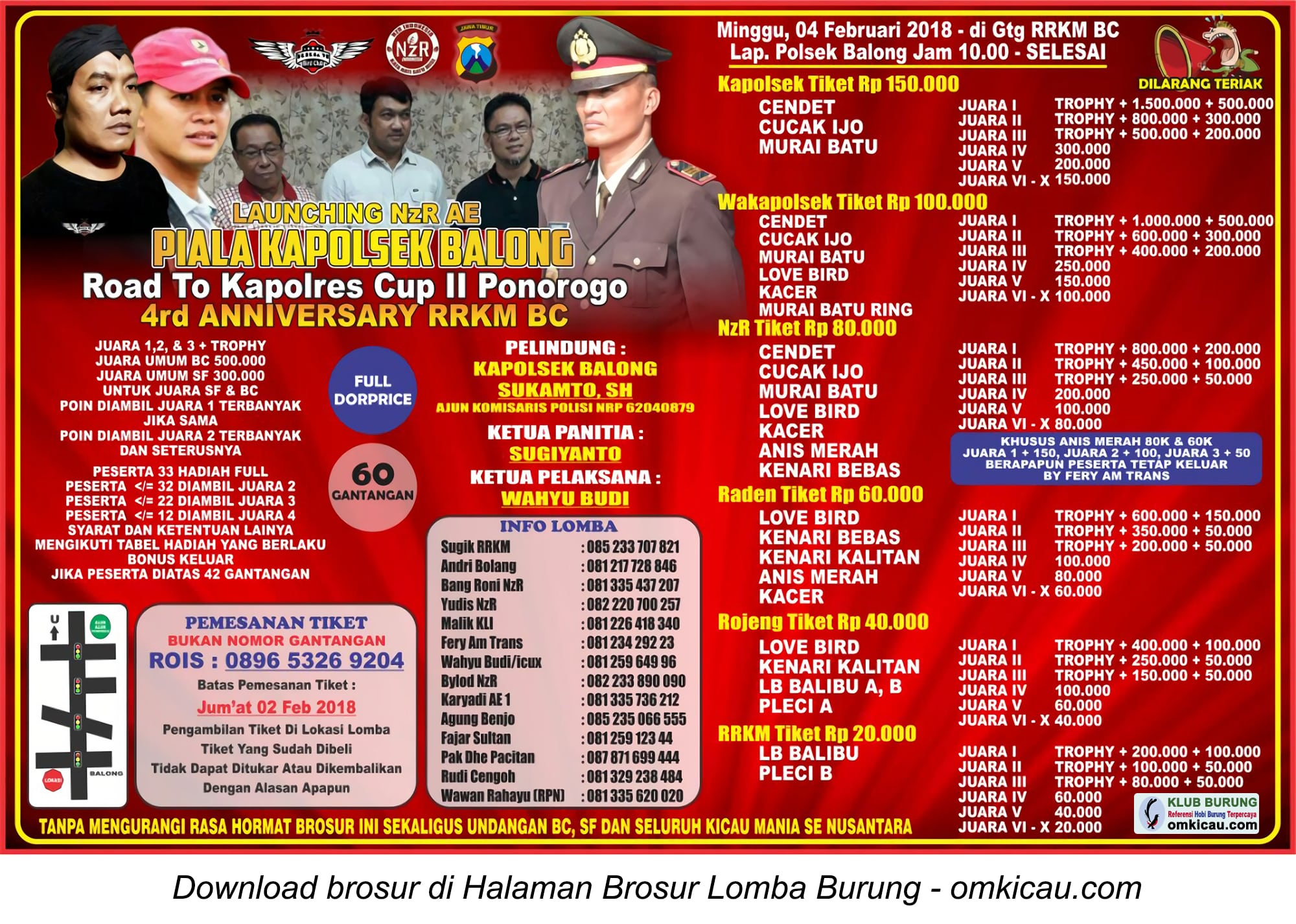 Piala Kapolsek Balong