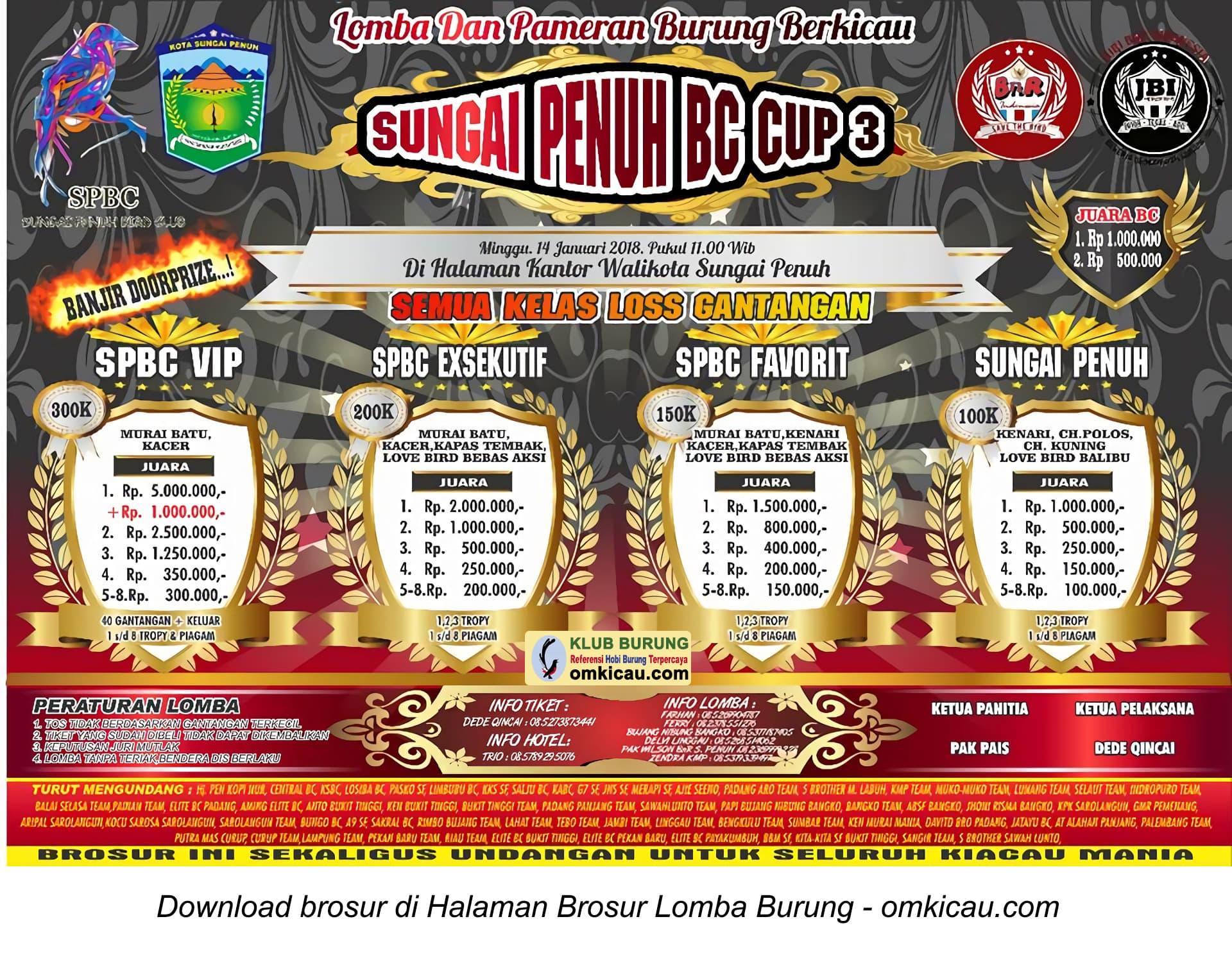 Sungai Penuh BC Cup 3