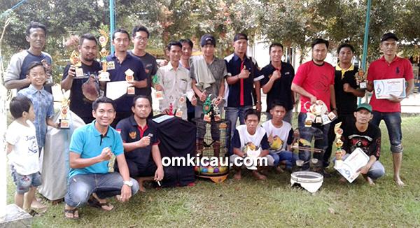 Tim Juri RI Banua 6 yang bertugas di Arena Taman Bawah Asam Barabai