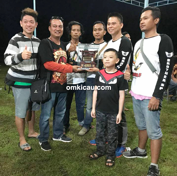 HG Brother SF Papua juara umum single fighter
