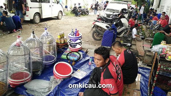 Sangkar kotak produksi BBF Bogor