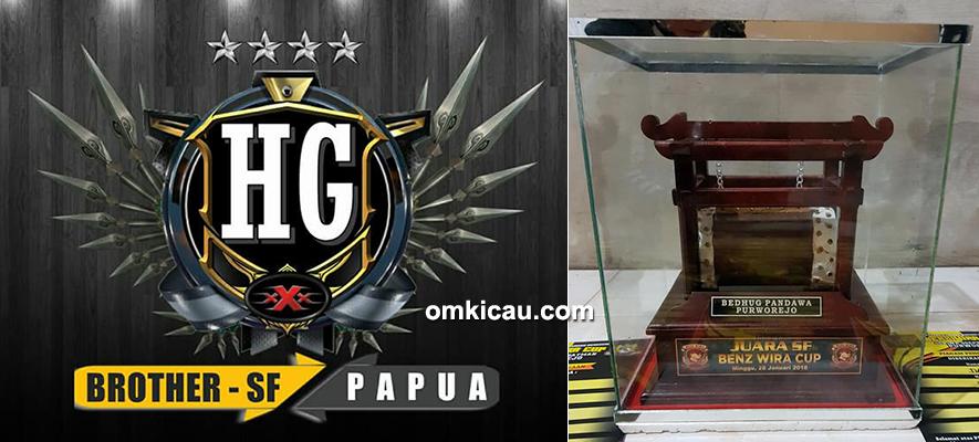 HG Brother SF Papua tampil kompak