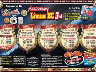 3rd Anniversary Limus BC